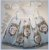 Vestido Infantil Estampa quadro de flores - Imagem 3