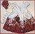 Vestido Infantil com barrado de flores e laço - Imagem 1