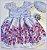 Vestido infantil Floral - Imagem 1
