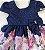 Vestido Infantil Rosas e Laços - Imagem 2