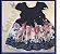 Vestido Infantil Rosas e Laços - Imagem 1