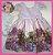 Vestido Infantil Barrado de Urso - Imagem 1