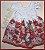 Vestido Infantil Saia de Rosas Vermelhas - Imagem 1