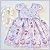 Vestido Infantil algodão doce - Imagem 3