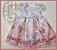 Vestido Infantil barrado de barquinho - Imagem 3