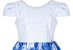 Vestido Infantil Casual com saia estampada - Imagem 2