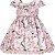 Vestido Infantil c/ cinto de pérolas - Imagem 1