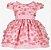 Vestido Infantil com flores 3D - Imagem 1