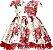 Vestido Estampado Rosas Vermelhas  - Imagem 1
