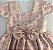 Vestido Infantil barrado meninas - Imagem 4