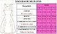 Vestido Infantil Rosa Renda e Cinto de Pérolas - Imagem 2