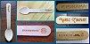 Faca de madeira 14cm cm personalizada (1000 uni)  - Imagem 2