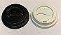 Tampa bico C/ Furo - (Copo de papel e bambu 210ml) - Caixa 1000 uni - Imagem 1