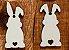 Kit - Tags de Páscoa coelhinhos- 12 unidades - Imagem 1