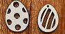 Kit - Tags de Páscoa ovinhos- 12 unidades - Imagem 1