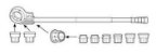 Tarraxa Manual Super Cut 1/2 à 2 Rothenberger - Imagem 3