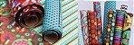Tecido Adesivo Rustico Pacote 20cm x 20cm - 12pçs - Imagem 2