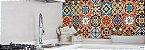 Tecido Adesivo Azulejo Hidraulico - Pacote / Rolo - Imagem 4
