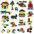 Peças Sortidas Blocos de Montar Compatível Lego (250 Peças) - Imagem 3