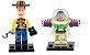 Kit Toy Story - Buzz e Woody compatível Lego - Imagem 1