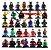 Super Kit Marvel e DC Lego Compatível c/ 34 - Imagem 1