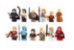 Kit Game of Thrones C/12 compatível Lego - Imagem 1