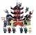 Set compatível Lego Ninjago Templo Airjitzu - 737 Peças - Imagem 1