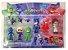 Bonecos PJ Masks Heróis de Pijama Com 6 Personagens Brinquedo Disney - Imagem 2