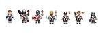 Kit Vingadores Ultimato Lego Compatível c/13 (Edição Deluxe) - Imagem 2