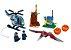 Set Jurassic World Fuga Pteranodonte - Brinquedo Dinossauro Lego Compatível (84 Peças) - Imagem 2