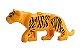 Boneco Compatível Lego Leopardo - Animais - Imagem 1