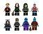 Kit Guardiões da Galáxia LEGO compatível c/8 - Imagem 2