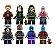 Kit Guardiões da Galáxia LEGO compatível c/8 - Imagem 1