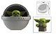 Boneco Mandaloriano e Baby Yoda Berço Star Wars Lego Compatível (Armadura tradicional) - Imagem 3