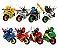 Kit Ninjago Moto Lego Compatível c/ 8 - Imagem 2