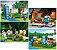 Set Minecraft LEGO Compatível 4 em 1 (378 peças) - Imagem 4