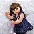 Bebê Reborn de Silicone Realista 55 cm Talita - Imagem 4
