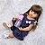 Bebê Reborn de Silicone Realista 55 cm Talita - Imagem 3