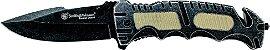 Canivete Grande e Forte Smith & Wesson Border Guard SWBG7 com Trava - Imagem 3