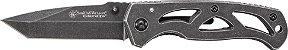 Smith & Wesson® Moldura de bloqueio Drop Point Folding KnifeSKU CK400 - Imagem 1