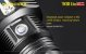 Lanterna recarregável Nitecore TM38 Lite 1400 metros - Imagem 8