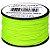 Microcord Cordame Militar Cor Sólida 1,18mm rolo com 37,5m - Verde Neon - Imagem 1