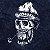 Camiseta Longline Estonada Old Skull - Imagem 2