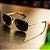 Óculos de Sol Polarizado Banhado a Ouro Zabô Lensk lente Marrom - Imagem 4