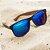 Óculos de Sol Polarizado Espelhado Zabô St. Tropez Amadeirado - Imagem 4