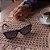 Óculos de Sol Polarizado em Madeira Samara Zabô Ebano - Imagem 4
