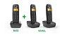 Telefone Sem Fio Intelbras TS 2510 Preto Com Identificador - Imagem 7