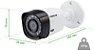 CAMERA  EXTERNA INTELBRAS G3 BULLET 3.6MM 1/4 MULTI HD VHD1010B 720P INFRAVERMELHO 10M - Imagem 3