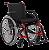 Cadeira de Rodas Standard Plus Duplo X - Imagem 1