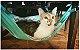 Rede de Cadeira para Gatos Cinza/Verde - Imagem 2